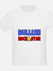 """Bullish Rock Star"" T-Shirt"