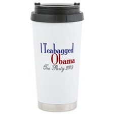 Teabag Obama (Tea Party) Travel Mug