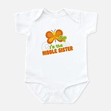 Middle Sister Butterfly Infant Bodysuit