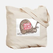 Recession Hits Home Snail Tote Bag