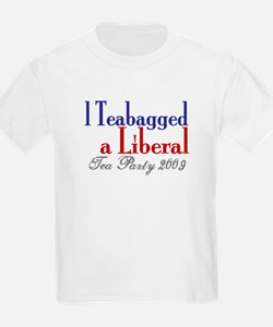 Teabag a Liberal (Tea Party) T-Shirt