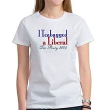 Teabag a Liberal (Tea Party) Tee