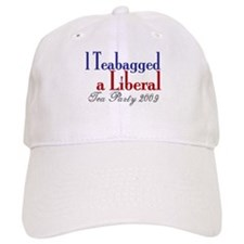 Teabag a Liberal (Tea Party) Baseball Cap
