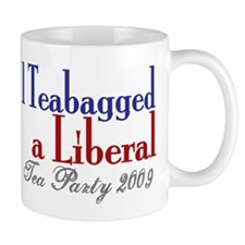 Teabag a Liberal (Tea Party) Mug