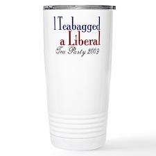 Teabag a Liberal (Tea Party) Travel Mug
