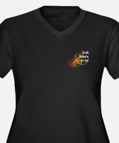 Truck Drivers Are Hot Women's Plus Size V-Neck Dar