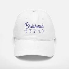 Indigo M Martini Bridesmaid Baseball Baseball Cap