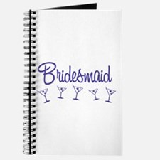 Indigo M Martini Bridesmaid Journal