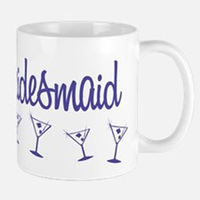 Indigo M Martini Bridesmaid Mug
