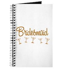 Orange M Martini Bridesmaid Journal