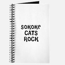 SOKOKE CATS ROCK Journal