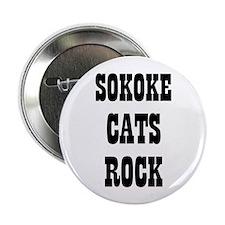"SOKOKE CATS ROCK 2.25"" Button (10 pack)"