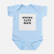 SOKOKE CATS ROCK Infant Creeper