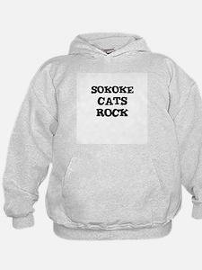 SOKOKE CATS ROCK Hoodie