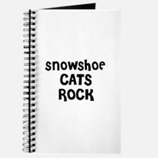SNOWSHOE CATS ROCK Journal