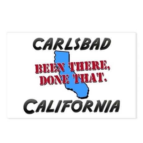 carlsbad california - been there, done that Postca