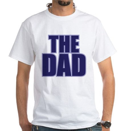 THE DAD White T-Shirt