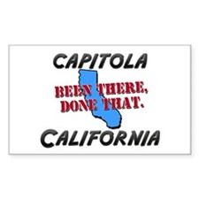 capitola california - been there, done that Sticke