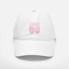 New Mom 2009 Pink Baseball Baseball Cap