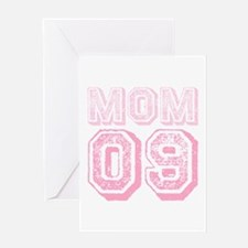 New Mom 2009 Pink Greeting Card