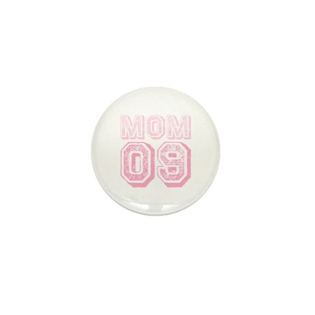 New Mom 2009 Pink Mini Button (10 pack)