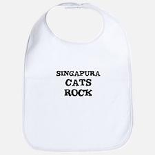 SINGAPURA CATS ROCK Bib