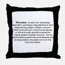 Cool Phd Throw Pillow