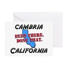 cambria california - been there, done that Greetin