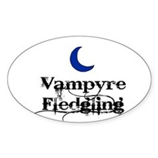 Vampyre Fledgling Oval Decal