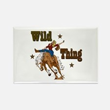 """""""Wild Thing"""" Rectangle Magnet (100 pack)"""
