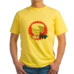 CakePHP 1.2 Yellow T-Shirt