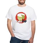 CakePHP 1.2 White T-Shirt