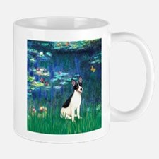 Lilies / Rat Terrier Mug