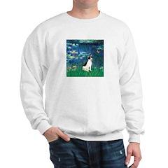Lilies / Rat Terrier Sweatshirt