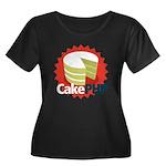 CakePHP 1.2 Women's Plus Size Scoop Neck Dark T-Sh