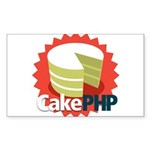 CakePHP 1.2 Rectangle Sticker 50 pk)