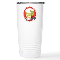 CakePHP 1.2 Stainless Steel Travel Mug