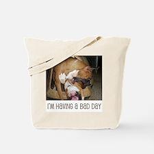 Unique Dog boxers Tote Bag