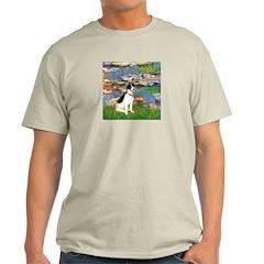 Lilies / Rat Terrier T-Shirt