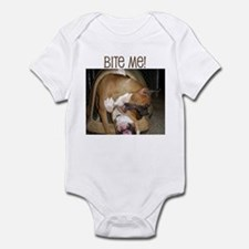 Cute Fighting dogs Infant Bodysuit