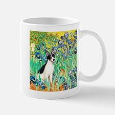 Irises / Rat Terrier Mug