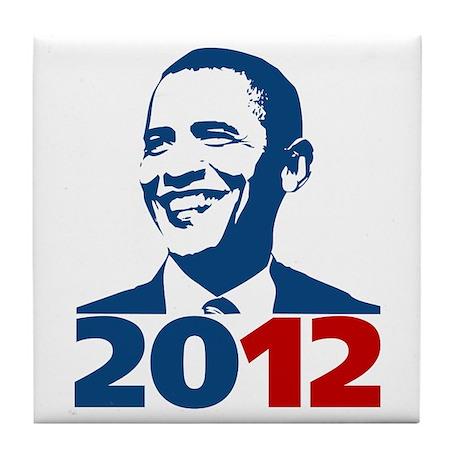 Obama 2012 Tile Coaster