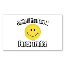"""""""..Love a Forex Trader"""" Rectangle Decal"""