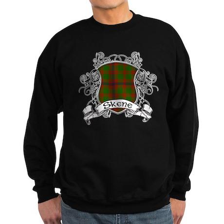 Skene Tartan Shield Sweatshirt (dark)