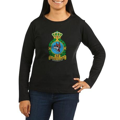 32d FS Women's Long Sleeve Dark T-Shirt