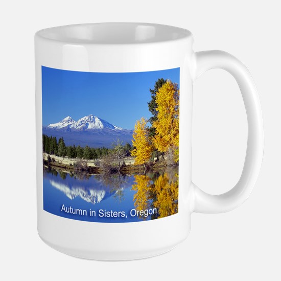 Autumn in Sisters Large Mug