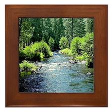 Metolius River Framed Tile