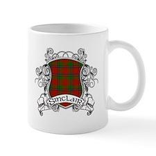 Sinclair Tartan Shield Mug