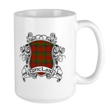 Sinclair Tartan Shield Mug