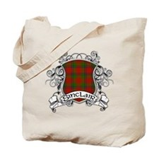 Sinclair Tartan Shield Tote Bag